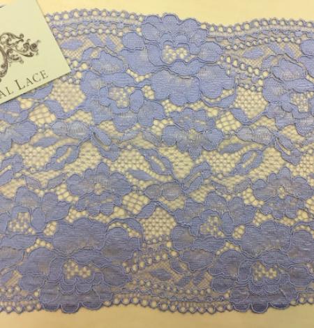 Light blue lace trim. Photo 1