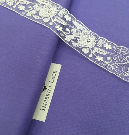 Lilac wool fabric. Photo 7