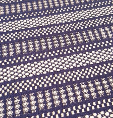 Purple lace fabric. Photo 5