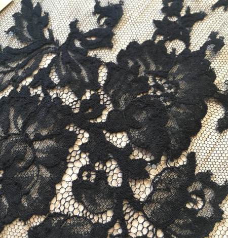 Black lace trimming from France. Photo 3