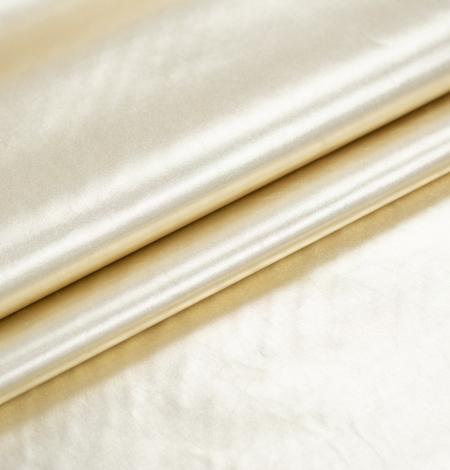 Gold color shiny rain coat fabric. Photo 7