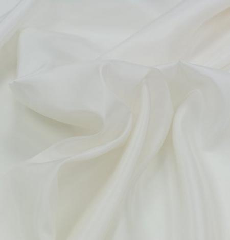 Ivory silk lining fabric . Photo 6