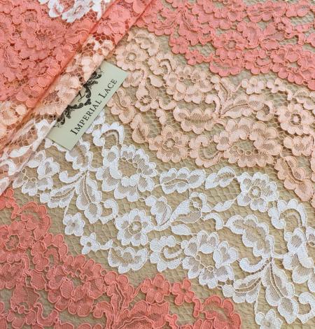 Multicolor lace fabric. Photo 7