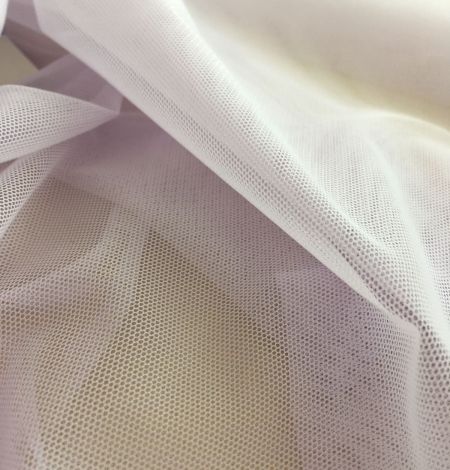 Lilac tulle fabric. Photo 4