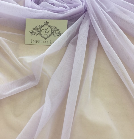 Lilac tulle fabric. Photo 1