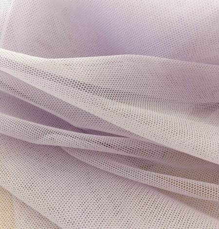 Lilac tulle fabric. Photo 6
