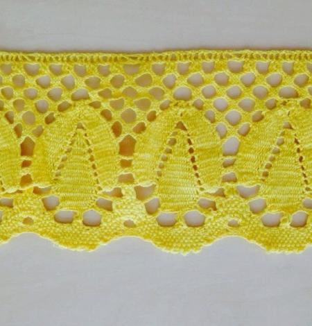 Yellow Cotton trimming. Photo 1
