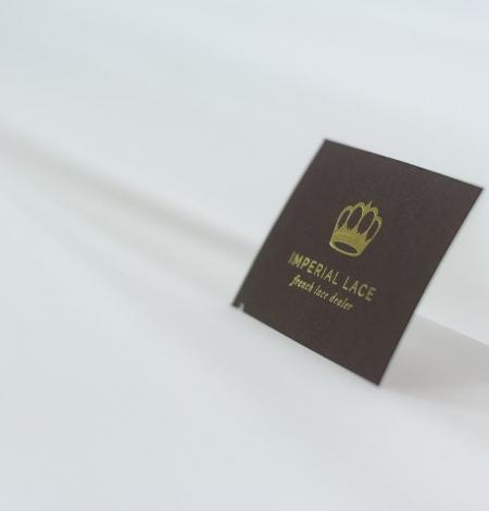 White crinoline fabric . Photo 5