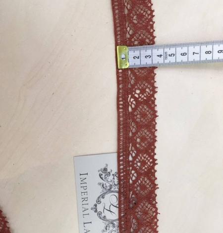 Brown Lace Trim. Photo 4