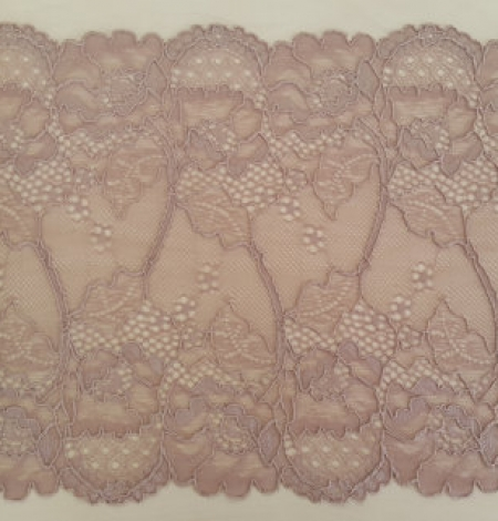 Dark powder lace trim. Photo 4