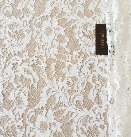 Ivory guipure lace fabric. Photo 7