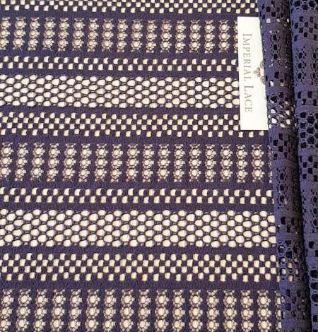Purple lace fabric. Photo 6