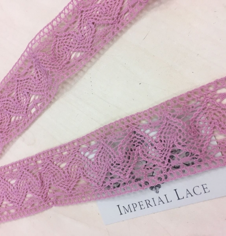 Old rose lace Trim. Photo 1