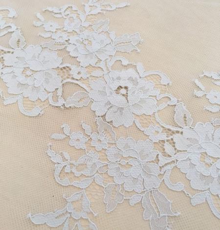 Gray lace fabric. Photo 2