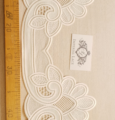 Beige lace trimming. Photo 6