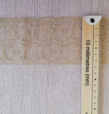 Gold lace trimming. Photo 8