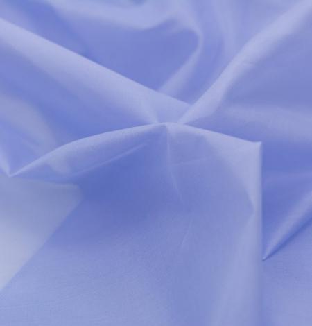 Blue with grey shade silk organza fabric . Photo 2