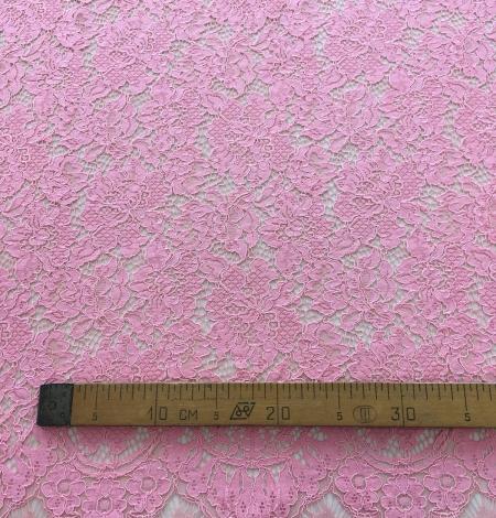 Pink lace fabric. Photo 7
