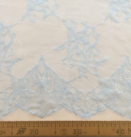 Blue flowers lace. Photo 5