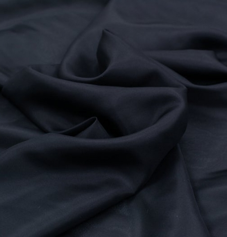 Black silk lining fabric . Photo 3