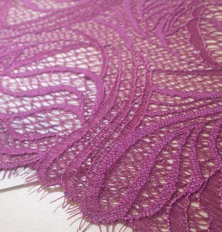 Dark Purple Lace Trim. Photo 1