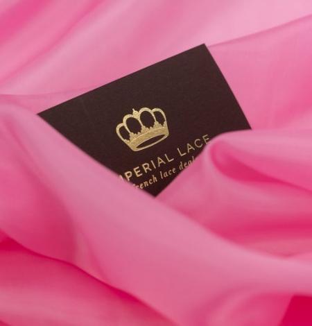 Pink vicose cupro lining fabric . Photo 7