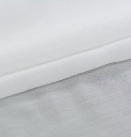 Off white organza chiffon fabric . Photo 2