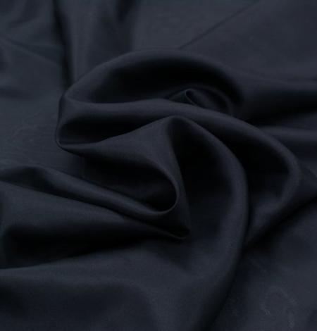 Black silk lining fabric . Photo 4