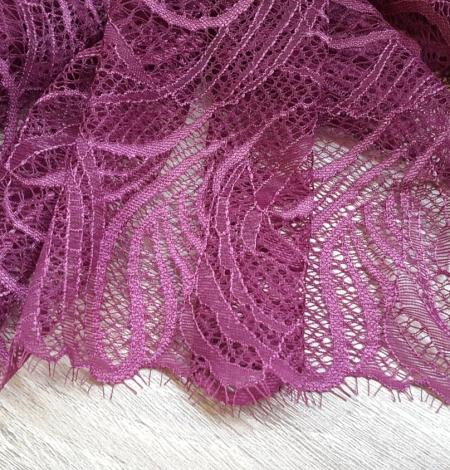 Dark Purple Lace Trim. Photo 2