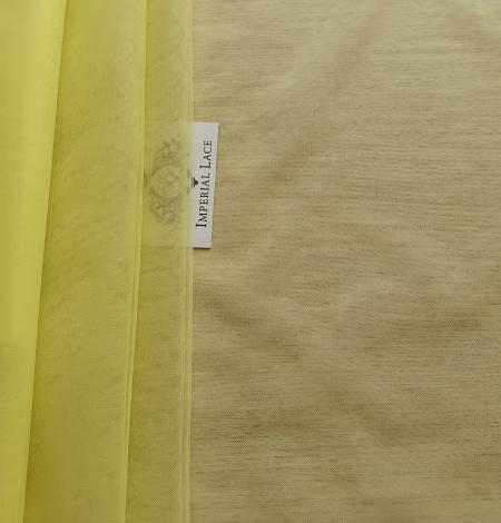 Yellow tulle fabric. Photo 2
