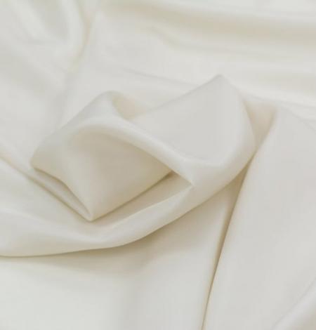 Beige silk lining fabric . Photo 6