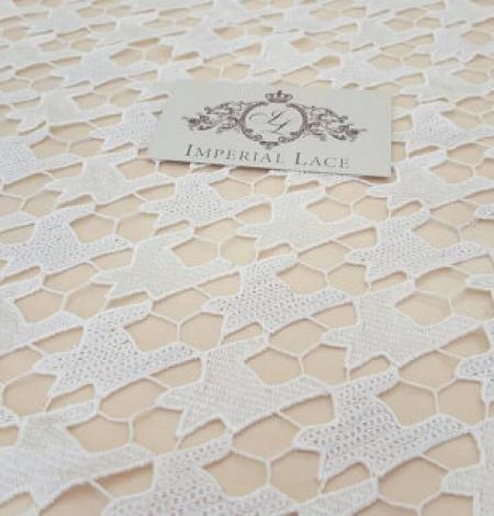 Ivory Lace Fabric. Photo 4