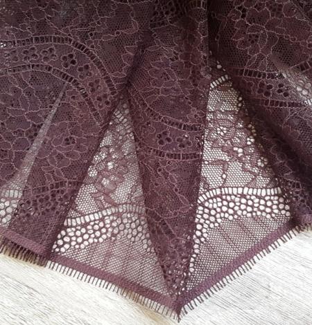 Brown Lace Trim. Photo 2