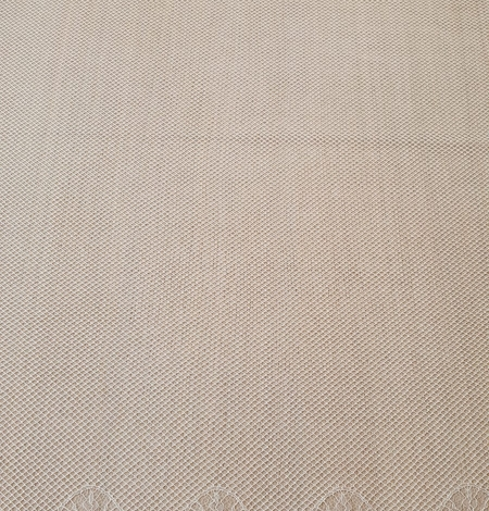 Ivory cotton chantilly lace fabric by Jean Bracq. Photo 8