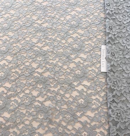 Pistachio lace fabric. Photo 2