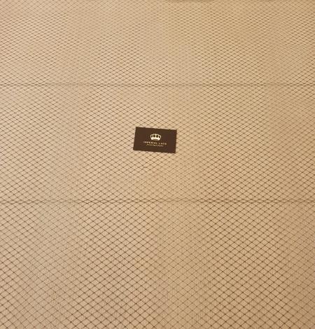 Black hat net tulle fabric. Photo 10