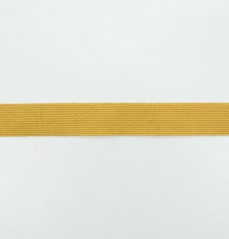 Mustard yellow decorative ribbon. Photo 6