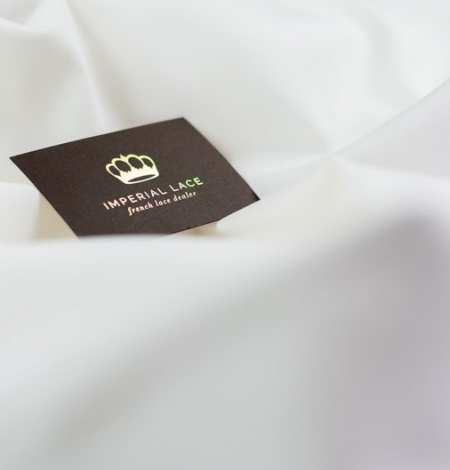 Snowwhite Cadi silk with cotton and elastane. Photo 2