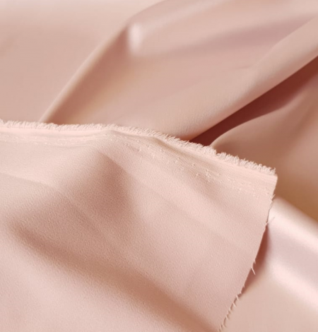 Powder pink satin fabric. Photo 6