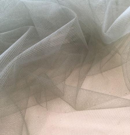 Soft khaki tulle fabric. Photo 3