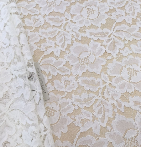 Ivory Lace Fabric. Photo 1