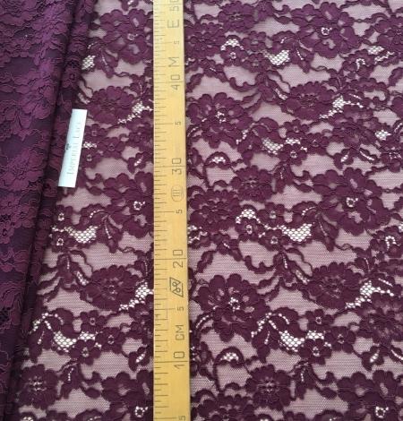Lilac lase fabric. Photo 7