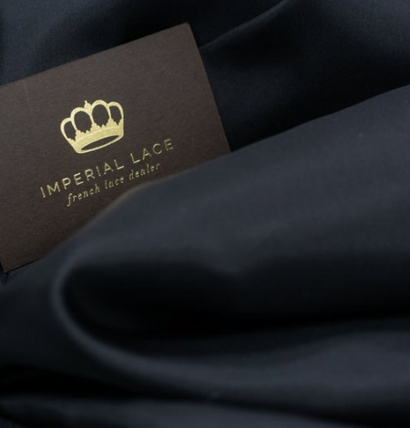 Black silk lining fabric . Photo 2