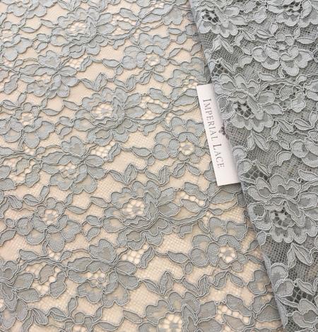 Pistachio lace fabric. Photo 5