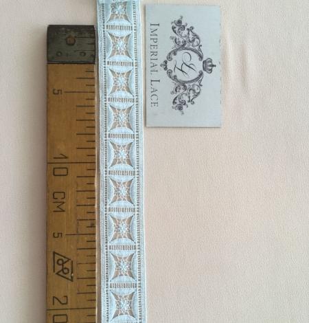 Light blue lace trim. Photo 6