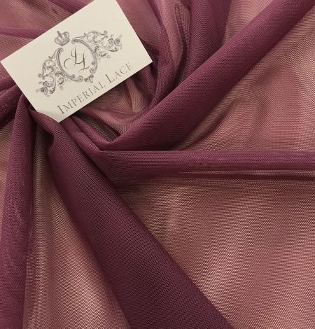 Bordo red tulle fabric. Photo 6