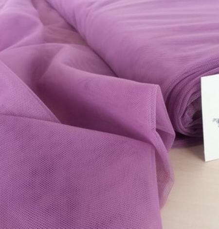 Old purple tulle fabric. Photo 1