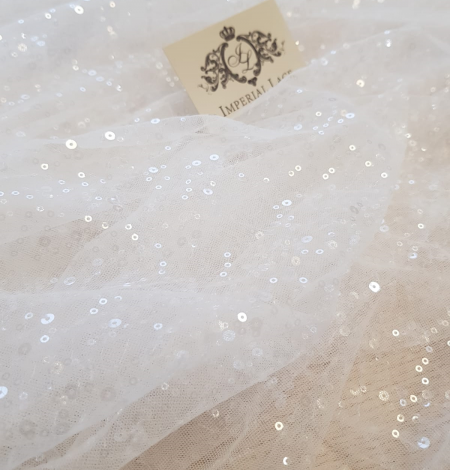 White tulle with fliters. Photo 3