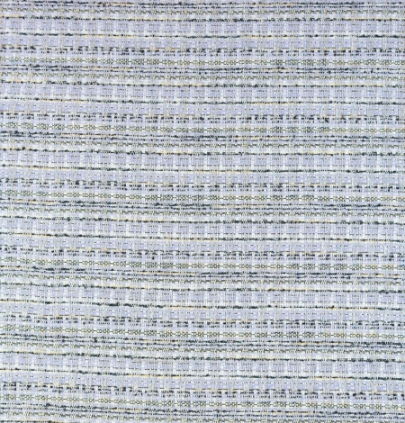 Lilac with blue shade with multicolor tweed fabric. Photo 7