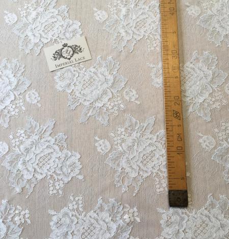 Light blue lace fabric. Photo 10